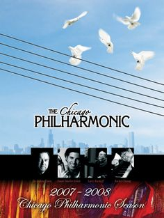 Poster Design for Chicago Philharmonic by Graphica