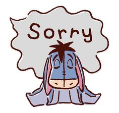 The perfect Sorry Apologize Eeyore Animated GIF for your conversation. Discover and Share the best GIFs on Tenor. Winnie The Pooh Gif, Winnie The Pooh Drawing, Wallpaper Iphone Disney, Cute Disney Wallpaper, Eeyore, Tigger, Gifs, Sorry Gif, Speech Balloon