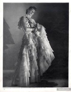 Madeleine Vionnet 1939 Photo Horst, Evening Gown