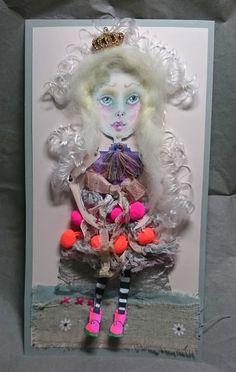 Mixed Media Paper Doll