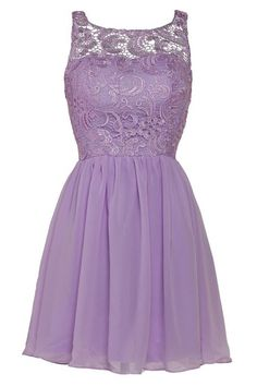 Lilac+Illusion+Short+Chiffon+A+Line+Homecoming+Cocktail+Dress+Cwb0439
