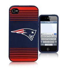 New England Patriots 2013 Team Logo Silicone iPhone 4 Ai4 Case Cover