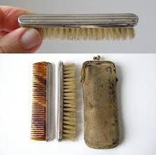 Image result for grooming mustache brush