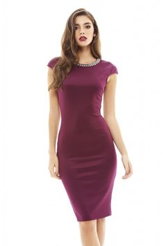 cc9d4e71d24a The dress has been designed to hug your curves and flatter your figure. The  neckline of the dress is decorated with silver embellishment