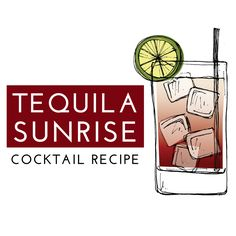 The Original Tequila Sunrise Cocktail Recipe