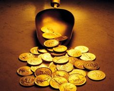 Gold Coins from a Golden Spoon