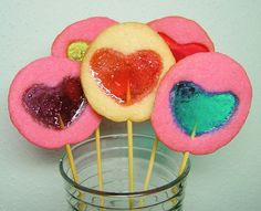 Stained Glass Cookies by ugogirl, via Flickr