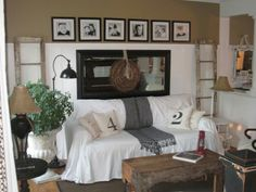Interesting decorating ideas as well as nice paint color themes