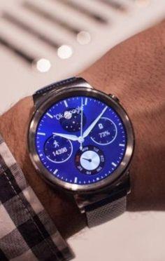 The Huawei Watch.
