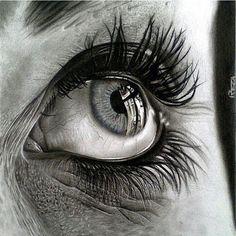 Amazing Learn To Draw Eyes Ideas. Astounding Learn To Draw Eyes Ideas. Realistic Pencil Drawings, Amazing Drawings, Pencil Art Drawings, Cool Drawings, Art Sketches, Pencil Portrait, Portrait Art, Photo Oeil, Human Anatomy Drawing