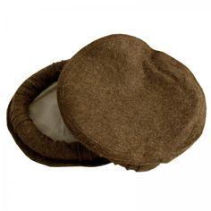 Dark Brown - Afghan Pakul Chitrali Cap Pakol Hat Peshawari Handmade 100%  Fine Quality fd4c1fdf213