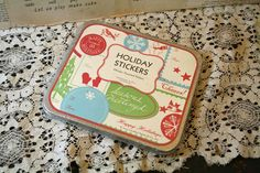 Cavallini Papers  Holiday  Stickers  100 Plus by AVintageSeason
