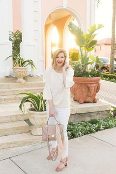 Shop the Look from Ashley Brooke Designs on ShopStyleGimme all the pearls for the perfect spring look! Mom Outfits, Trendy Outfits, Fashion Outfits, Modest Outfits, Fashion Ideas, Women's Fashion, Ashley Brooke Designs, Dressed To The Nines, Spring Looks