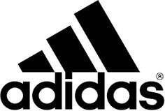Adidas logo - simple gestural marks - can be interpreted as many objects