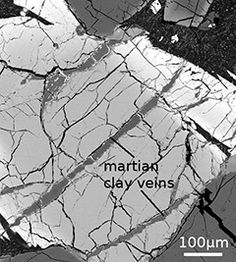Researchers from the University of Hawaii at Manoa NASA Astrobiology Institute (UHNAI) have discovered high concentrations of boron in a Martian meteorite. When present in its oxidized form (borate), boron may have played a key role in the formation of RNA, one of the building blocks for life.