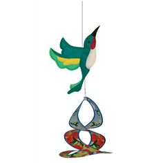 Based on the popular Spin Duet design, the #Hummingbird Theme Duet features a 2D Applique Graphic with a Dye Sublimated Printed Spin Duet. Theme Duets are made with weather resistant fabric and fiberglass frames. No assemby is required and comes with snap swivel for hanging. #windspinner #windspinners #gardendecor #yarddecor