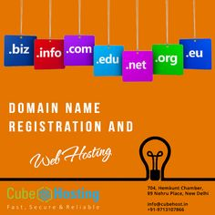 Enjoy most secured and unlimited web #Hosting services at the cheapest rate. We also provide Linux hosting, #Domain #Registration services