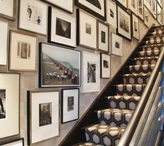staircase picture wall