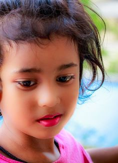 Beautiful little girl by Nitish Kumar on 500px