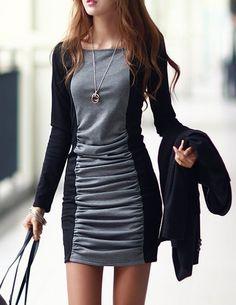#Women #Long #Sleeve #Pencil #Dress #Cotton #Autumn #Winter #Dress #Ladies #Casual #Office #Dress #Vestidos #Dresses #dresses http://alipromo.com/redirect/cpa/o/9347b1ac8a87e092f9f1ac555a409735?to=http://www.aliexpress.com/item/NEW2013-Dresses-women-temperament-long-sleeve-corrugation-skirt-render-new-dress-S-M-L-XL-Free/1451292560.html