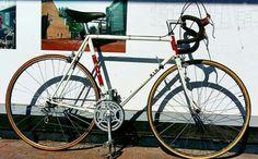 RIH Amstel Bier. 1978 Amsterdam built Amstel Wielerploeg bike. It's a gem.