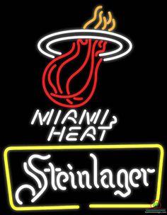 Steinlager Miami Heat Neon Sign NBA Teams Neon Light