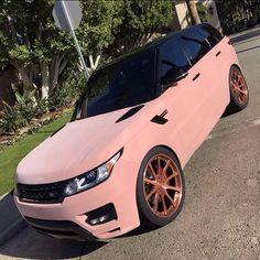 Range Rover Sport, Pink Range Rovers, Bugatti Cars, Ferrari, Pink Lamborghini, Range Rover Interior, Gold Wheels, Mercedes Benz S, Maserati Quattroporte