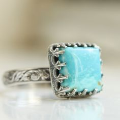 Princess Turquoise Ring