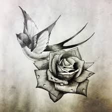 Image result for vintage sparrow tattoo