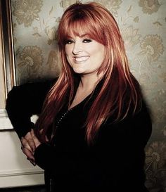 Wynonna Judd! Thru all her ups and downs...she just keeps going ! Love that.