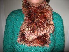 Warmer kuscheliger Schal