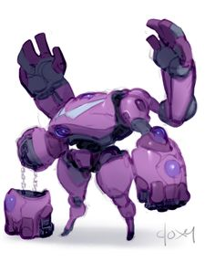 Gembots: Sugilite by mldoxy.deviantart.com on @DeviantArt ★    CHARACTER DESIGN REFERENCES (https://www.facebook.com/CharacterDesignReferences & https://www.pinterest.com/characterdesigh) • Love Character Design? Join the #CDChallenge (link→ https://www.facebook.com/groups/CharacterDesignChallenge) Share your unique vision of a theme, promote your art in a community of over 30.000 artists!    ★