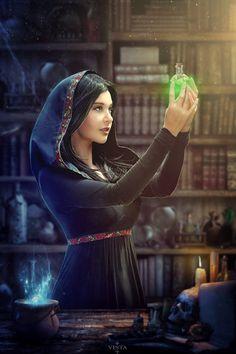 Sorceress by Dea-Vesta on DeviantArt