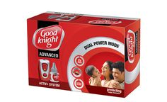 Get a machine free with Good Knight mosquito repellent liquid at just Rs 72. Valid at all super markets.