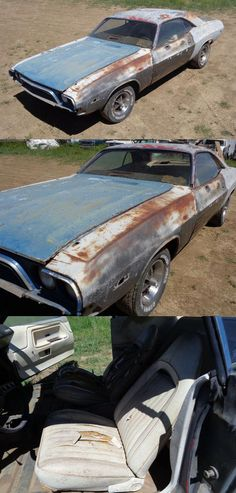 1973 Dodge Challenger project [missing engine] Project Cars For Sale, Engines For Sale, Grey Exterior, Dodge Challenger, Rear Seat, Engineering, Projects, Gray Exterior, Log Projects