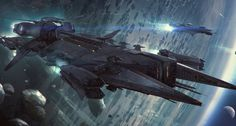 Javelin-Class Destroyer, apprx. 50 crew member destroyer #Star Citizen