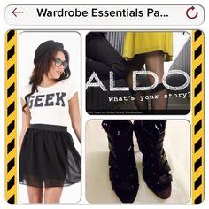 HOST PICK 5/16 Aldo Strappy Heels ⛔️REDUCED ⛔️ Was $50. Now $34. Black. Back zipper. Size 10. ALDO Shoes Heels