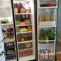 Revamp your refrigerator, meals & lifestyle with healthy meal prep. #healthylifestyle #ygyclub #eatclean