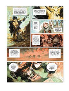 """""""AURORE"""" comic book by Enrique Fernandez, via Behance"""