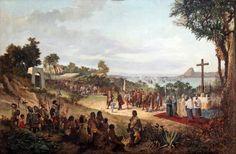 BENEDITO CALIXTO- Giclleé sobre tela (Canvas Alemão) qualidade Museu b46cd36493596
