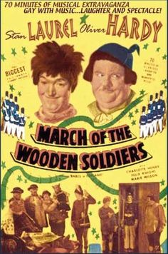 """March of the Wooden Soldiers"" (1934).  (one of my favorites from long ago to watch during Holiday times)"