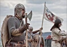 Anglo Saxon Huscarl - Battle of Twt Hill