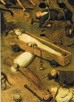 The Visions of Pieter Brueghel the Elder: The Triumph of Death (detail)