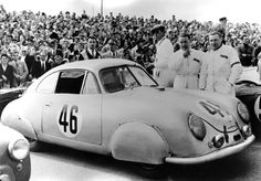 Porsche at Le Mans in the 1950s - History, Photos, Profile