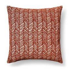 Throw Pillow Velvet Chevron - Threshold™ : Target