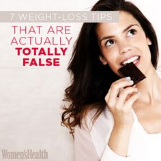 7 Weight-Loss Tips That Are Actually Totally False