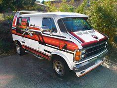 Just Listed: 1979 Dodge Ram Star Wars Tribute Van - Automobile Magazine Star Wars Vans, Dodge Van, Cool Vans, Fender Flares, Custom Vans, Car Pictures, Car Pics, Barn Finds, Classic Cars