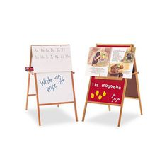 Great deal for teachers!! Retails for about 200! @Overstock - This Quartet Magnetic Flannel/Dry-Erase Easel has a magnetic flannel surface on one side and whiteboard on the other. This double sided board includes a magnetic-backed oak tray to position big books charts and posters for display.http://www.overstock.com/Office-Supplies/Quartet-Magnetic-Flannel-Dry-Erase-Easel-24-x-47/6709250/product.html?CID=214117 $56.97
