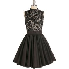 Chi Chi London Long Sleeveless Twofer Dancer's Delight Dress by Chi... ($90) ❤ liked on Polyvore featuring dresses, modcloth, black, lace, vestidos, apparel, fit & flare dress, long dresses, black fit and flare dress and sleeveless lace dress