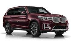 BMW X7 SUV Rendered Online
